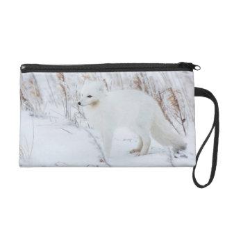 Arctic Fox Wristlet Clutch
