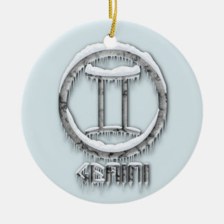 Arctic Gemini Christmas Ornament