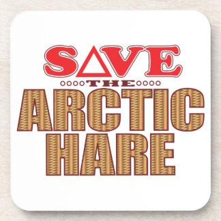Arctic Hare Save Coaster