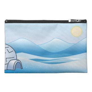 Arctic Igloo Blue Travel Accessory Bag