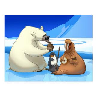 Arctic Jug Band Postcard