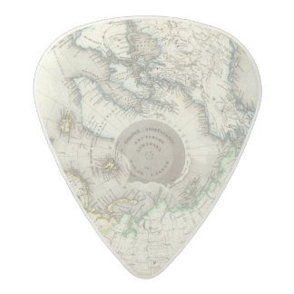 Arctic, Northern Hemisphere Acetal Guitar Pick