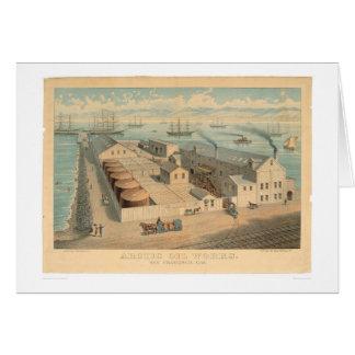 Arctic Oil Works, San Francisco, CA. (0032A) Greeting Card