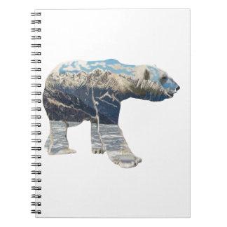 Arctic Polar Bear Notebook
