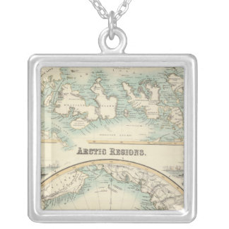 Arctic Regions 2 Silver Plated Necklace