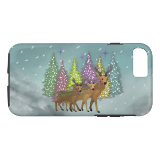 Arctic Reindeer iPhone 7 case