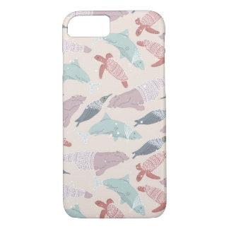 Arctic Sea Animals in Space iPhone 7 Case