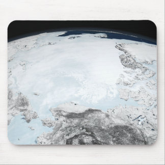 Arctic sea ice 2 mouse mat