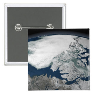 Arctic sea ice above North America Buttons