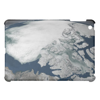 Arctic sea ice above North America iPad Mini Cover