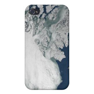 Arctic sea ice above North America iPhone 4 Case