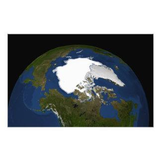 Arctic sea ice in 2005 photo print