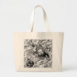 Arctic Sea Monster Tote Bag