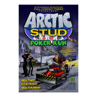 Arctic Stud Poker Run Poster