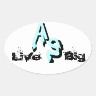 Arctic Survivor Live Big Sticker