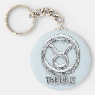 Arctic Taurus Key Ring