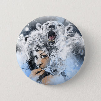 Arctic Tears 6 Cm Round Badge