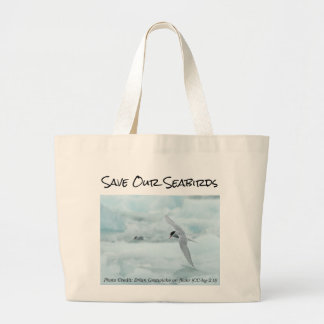 Arctic Tern Save Our Seabirds Bag by RoseWrites