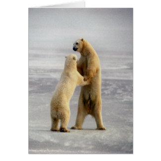 Arctic Waltz Greeting Card