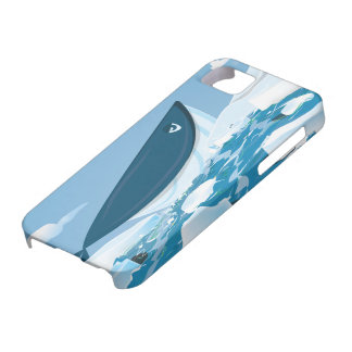 Arctic Whale Barely There iPhone 5 Case