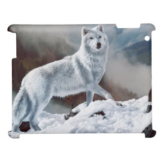 Arctic Wolf Case For The iPad