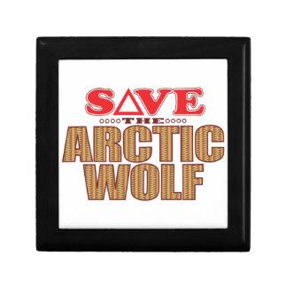 Arctic Wolf Save Gift Box