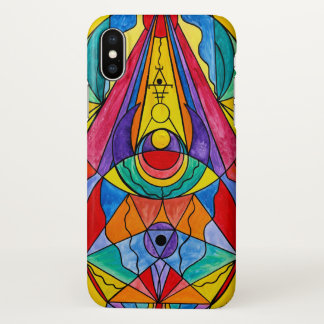 """""""Arcturian Insight Grid"""" iPhone X Glossy Case"""