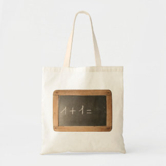 Ardoise 04 - Mathematicals Lessons Budget Tote Bag