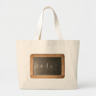 Ardoise 04 - Mathematicals Lessons Jumbo Tote Bag