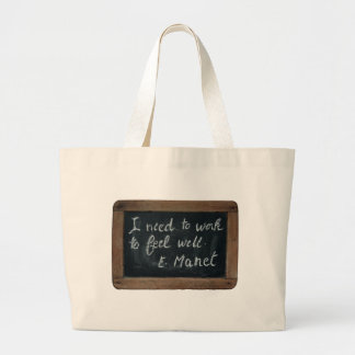 ardoise #07 - Manet's Quote Bags
