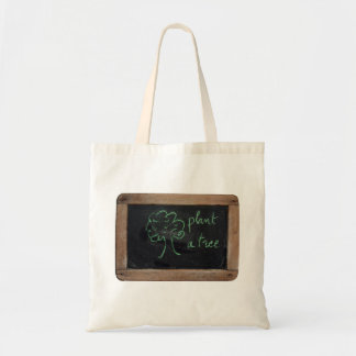 Ardoise #12 - Plant a Tree - Go Green Tote Bags