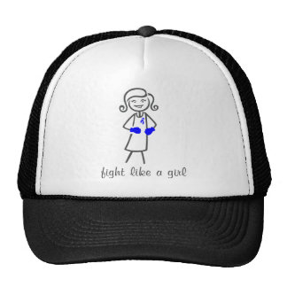 ARDS Fight Like A Girl (Retro) Mesh Hats
