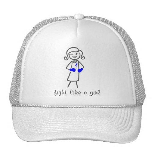 ARDS Fight Like A Girl (Retro) Trucker Hat
