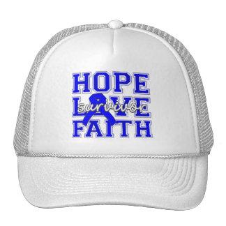 ARDS Hope Love Faith Survivor Trucker Hats