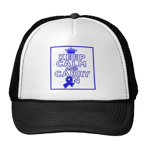 ARDS Keep Calm and Carry ON Trucker Hats