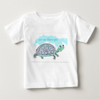 Are we there yet? baby T-Shirt