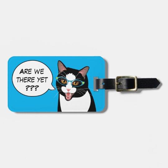 ARE WE THERE YET? Sassy Tuxedo Cat BlissAndKittens