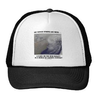 Are Winter Storms Like Nemo Fluke Or New Reality? Trucker Hats