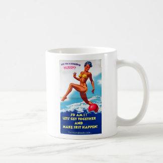 Are You a Beading Hussy? Basic White Mug