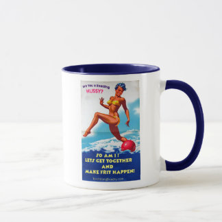 Are You a Beading Hussy? Mug