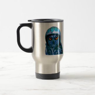Are you a Birder or a Night Owl? - Double Sided Stainless Steel Travel Mug