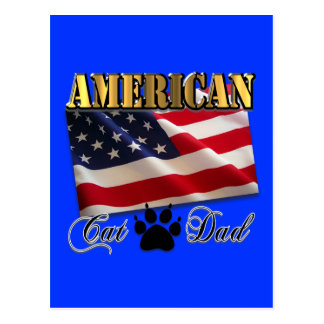 Are you an American Cat Dad? Post Cards