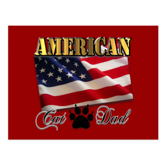 Are you an American Cat Dad? Postcard