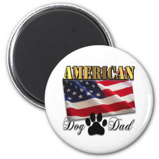 Are you an American Dog Dad Magnets