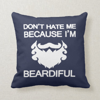 Are you beardiful!? cushion