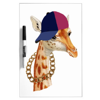 Are You Chaving a Giraffe London Cockney Slang Dry Erase White Board