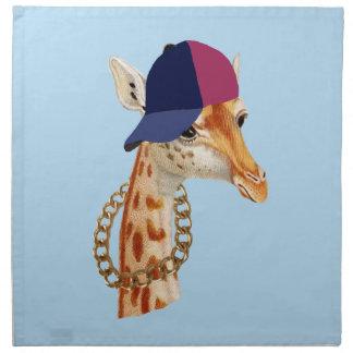 Are You Chaving a Giraffe London Cockney Slang Napkin