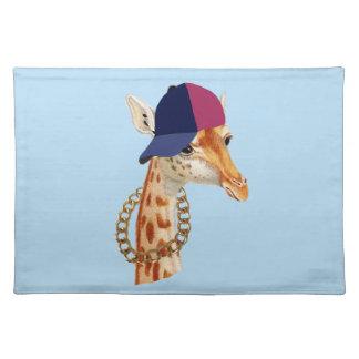 Are You Chaving a Giraffe London Cockney Slang Place Mat