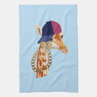 Are You Chaving a Giraffe London Cockney Slang Tea Towel
