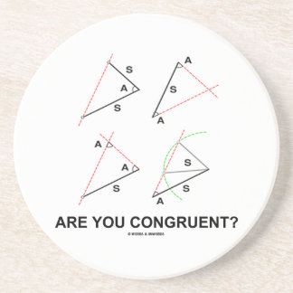 Are You Congruent? (Congruent Angles) Coasters